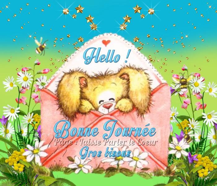 Hello ! Bonne Journée, Gros bisous