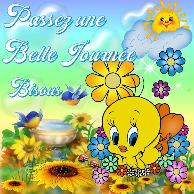 Passez une Belle Journée Bisous