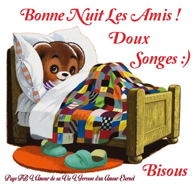 Bonne nuit les amis ! Doux songes :) Bisous