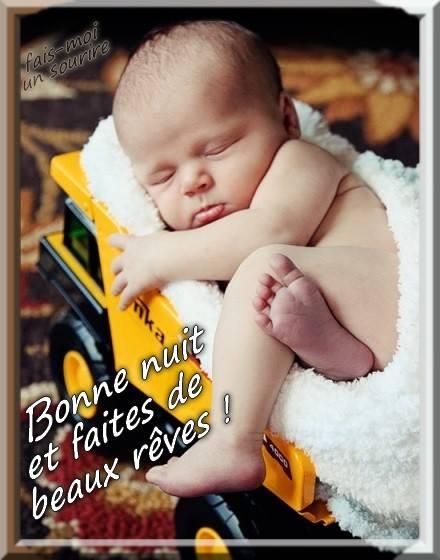 Bonne nuit et faites de beaux rêves !