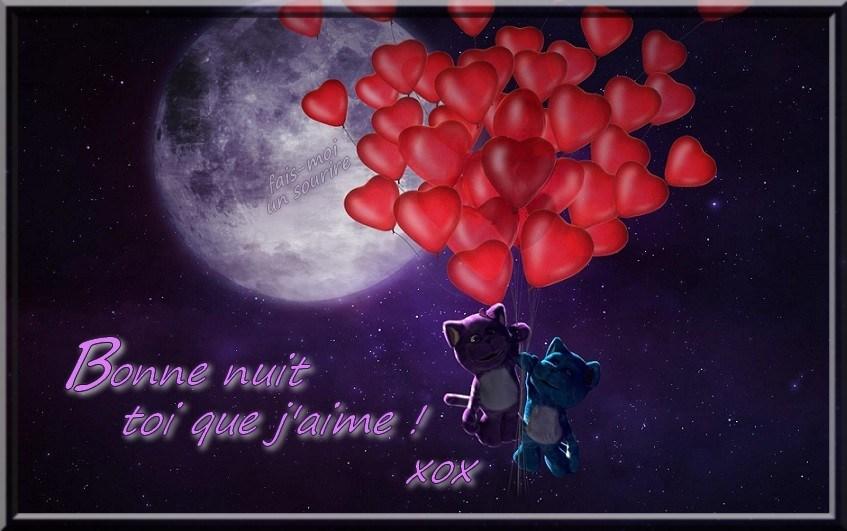 Bonne nuit toi que j'aime ! xox