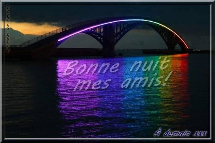 Bonne nuit mes amis! À demain xxx