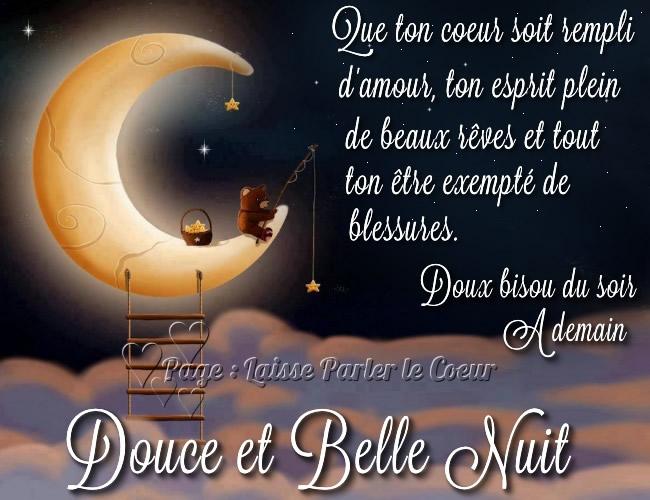 Que ton coeur soit rempli d'amour, ton esprit plein de beaux rêves...