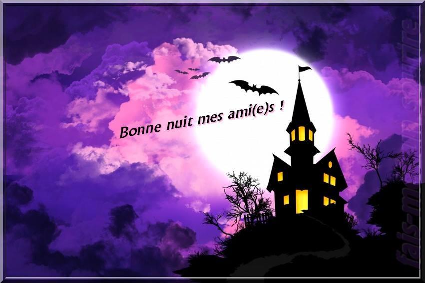 Bonne nuit mes ami(e)s !