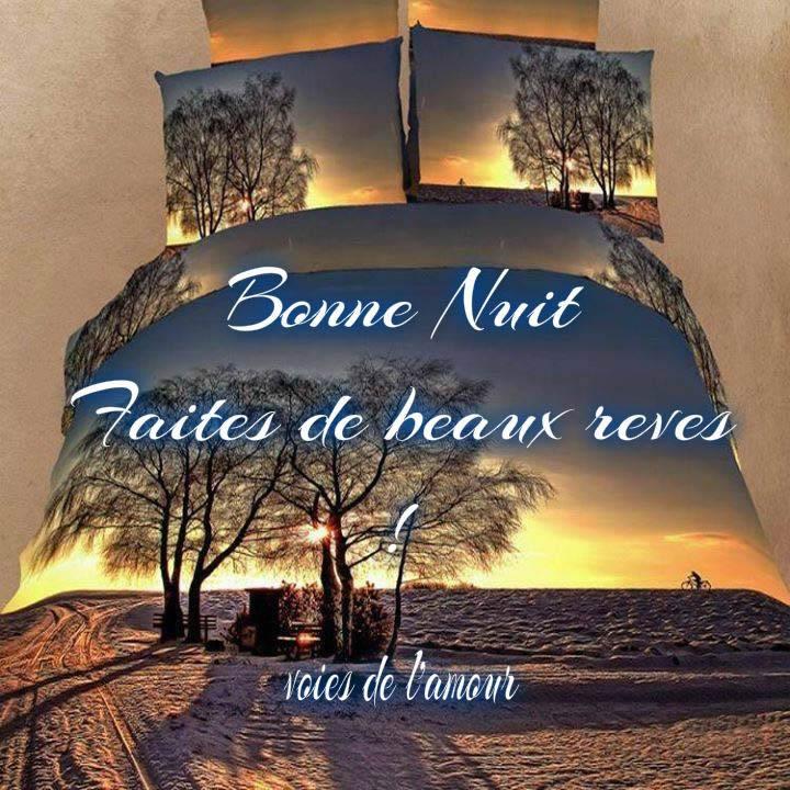 Bonne Nuit, faites de beaux rêves