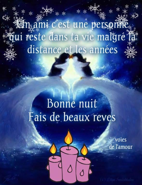 Bonne nuit. Fais de beaux rêves
