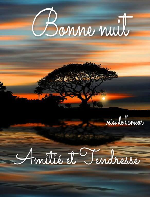Bonne nuit, Amitié et Tendresse