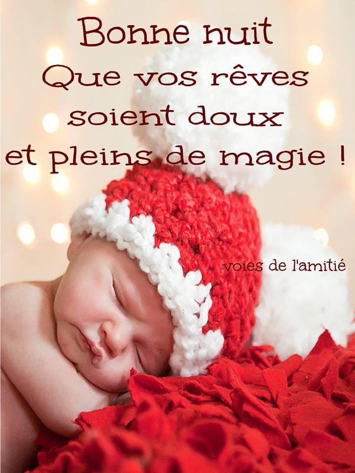 Bonne nuit, Que vos rêves soient doux et pleins de magie !