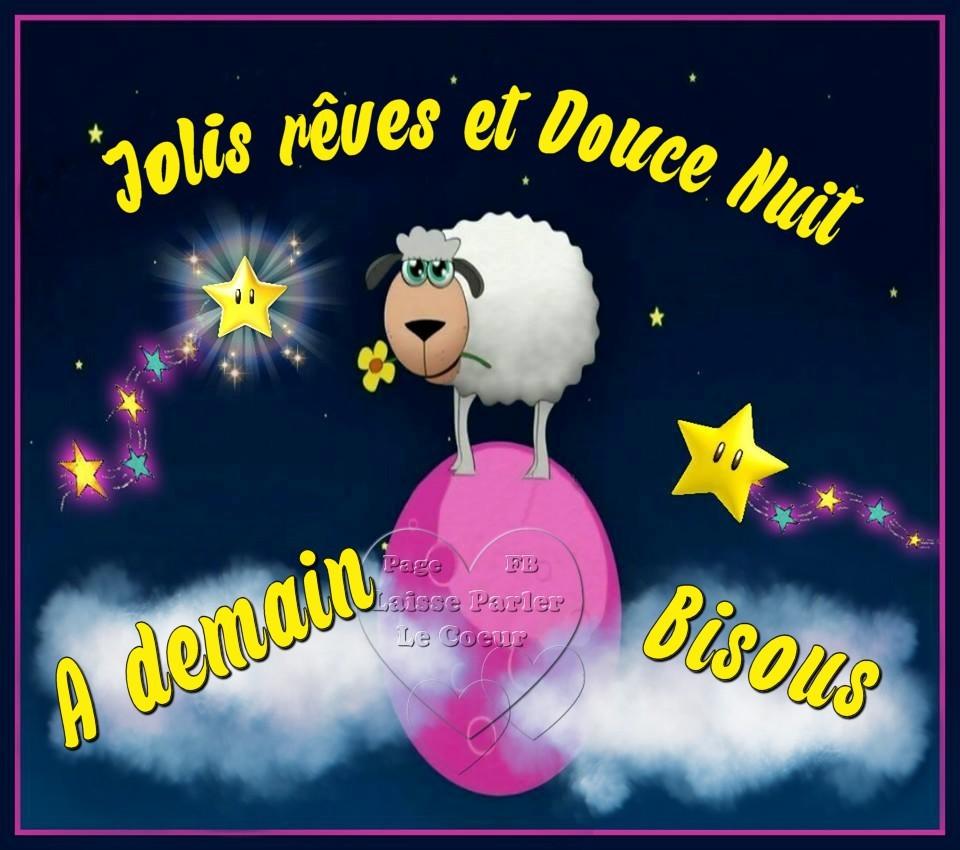 Image Bonne Nuit jolis rêves et douce nuit image #7340 - bonnesimages