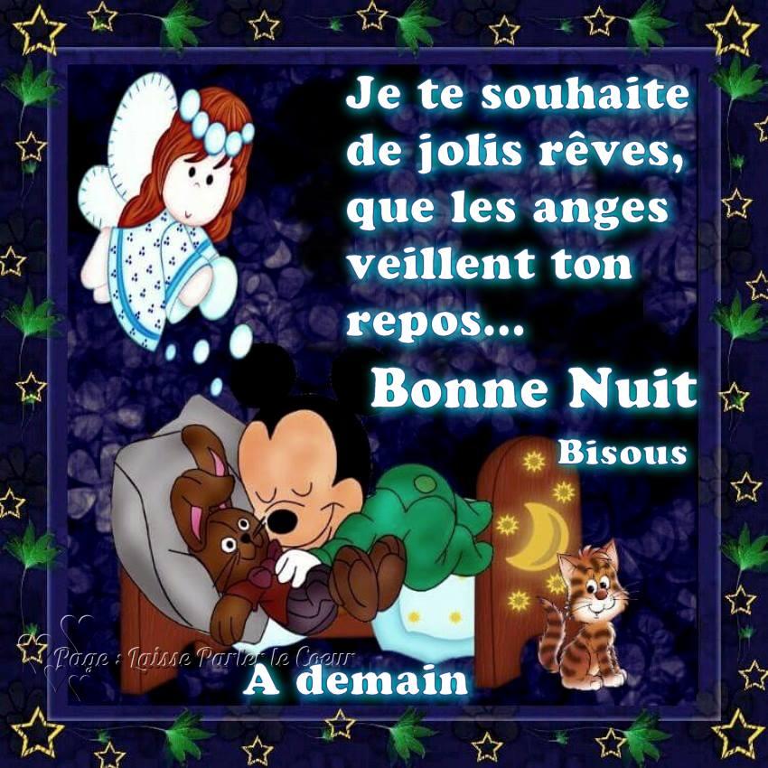 Bonne Nuit, Bisous, À demain
