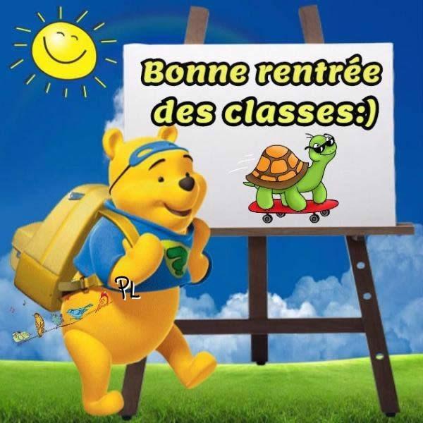 Bonne rentrée des classes :)