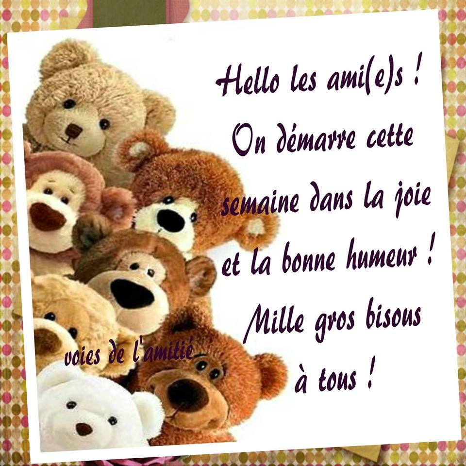Hello les ami(e)s !