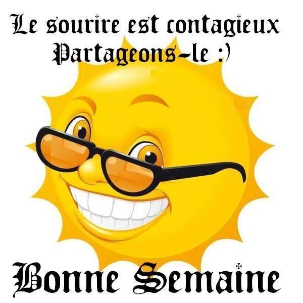 Le sourire est contagieux...