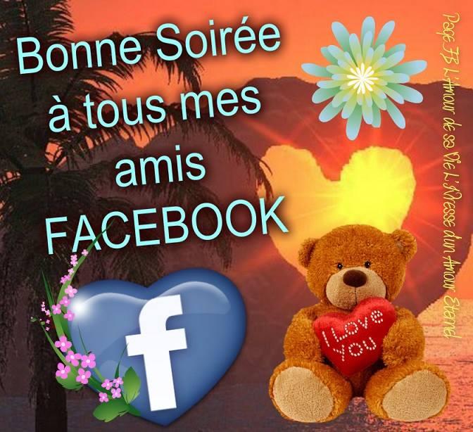 Bonne Soirée à tous mes amis Facebook