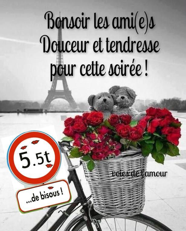 Bonsoir les ami(e)s. Douceur et...