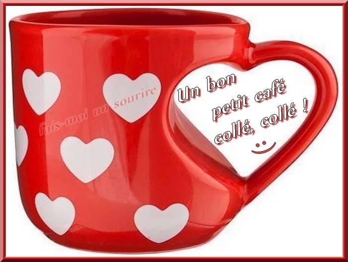 Un bon petit café collé, collé !