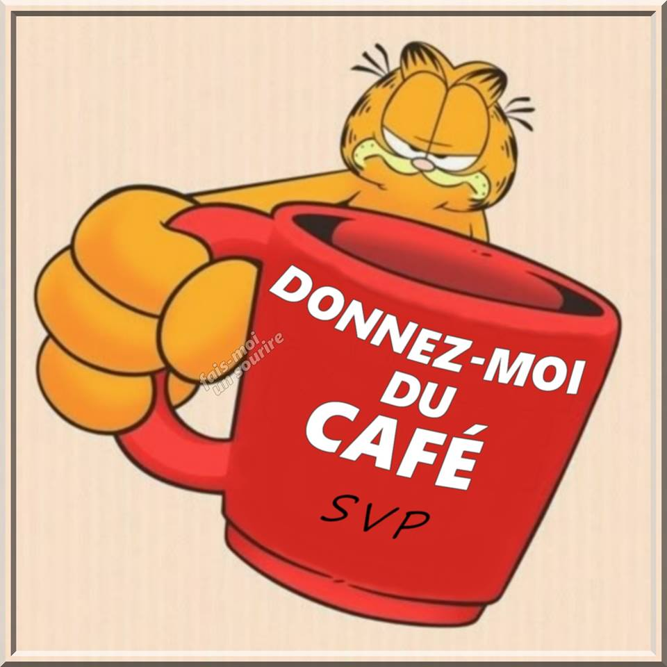 Donnez-moi du café svp