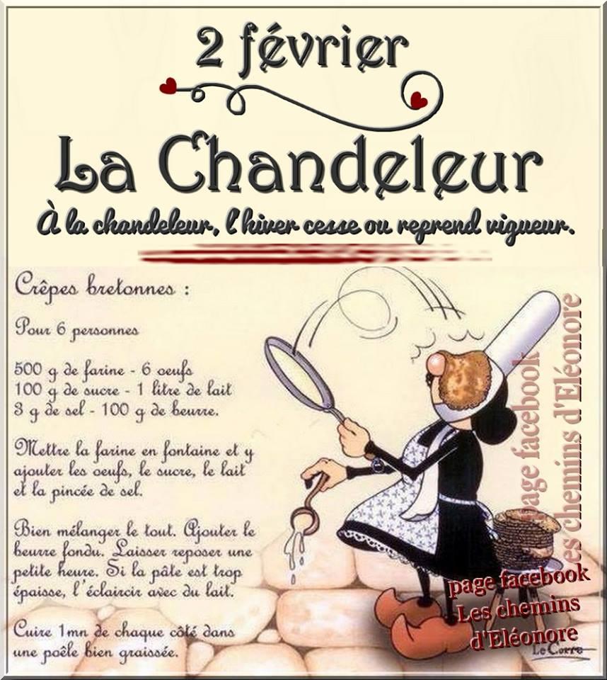 2 février. La Chandeleur