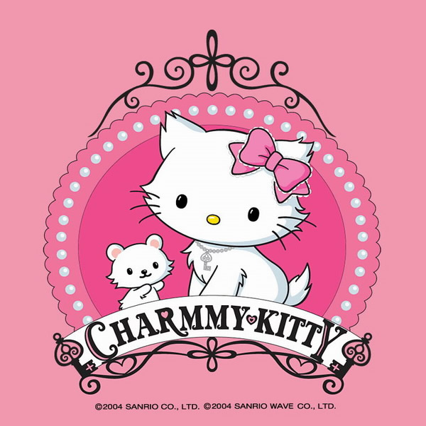 Charmmy Kitty et nounours dans cadre...