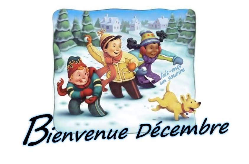 Bienvenue Décembre