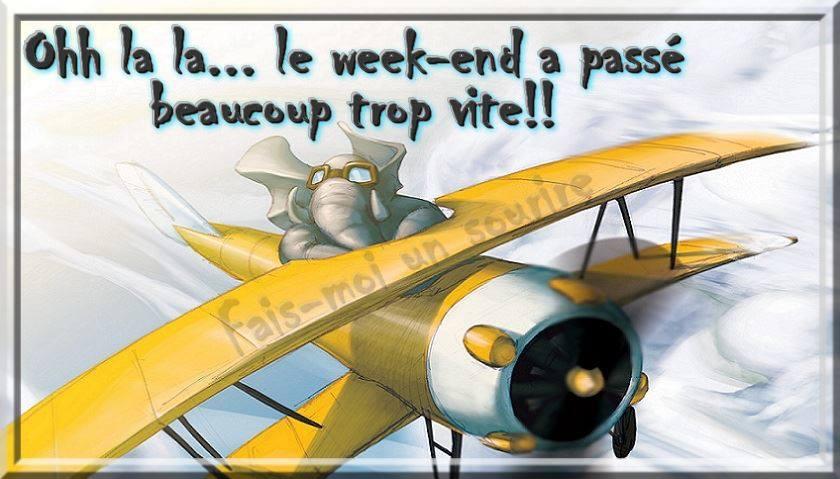 Ohh la la... le week-end à passe...