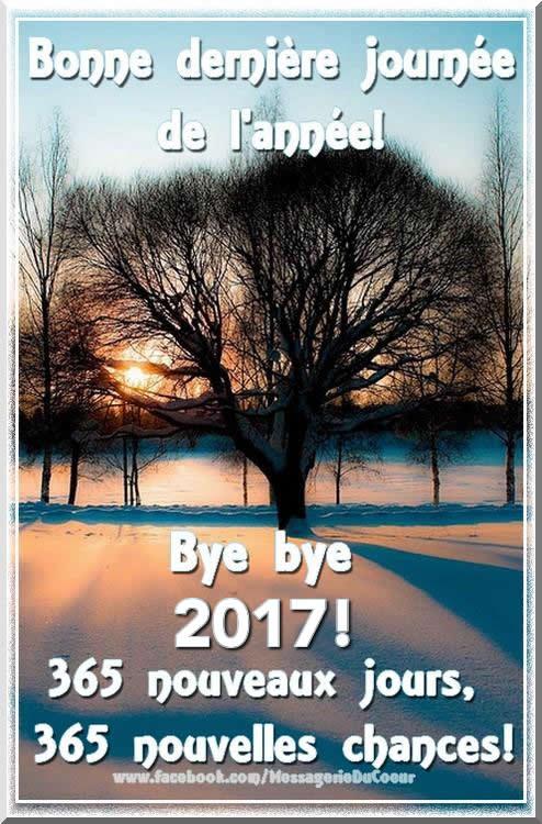 Bonne dernière journée de l'année !