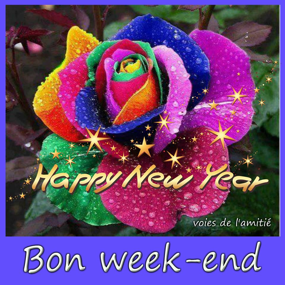 Bon week-end, Happy New Year