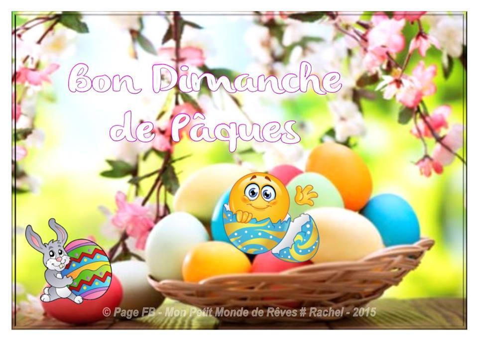 Bon Dimanche de Pâques