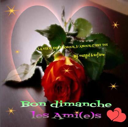 Bon dimanche les Ami(e)s