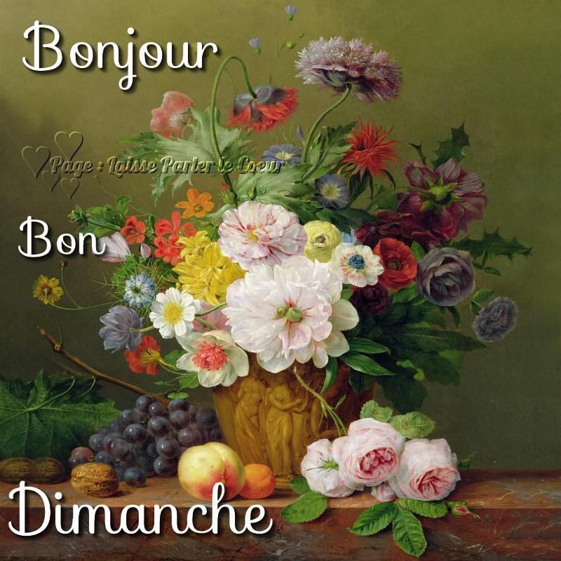 Bonjour, Bon Dimanche