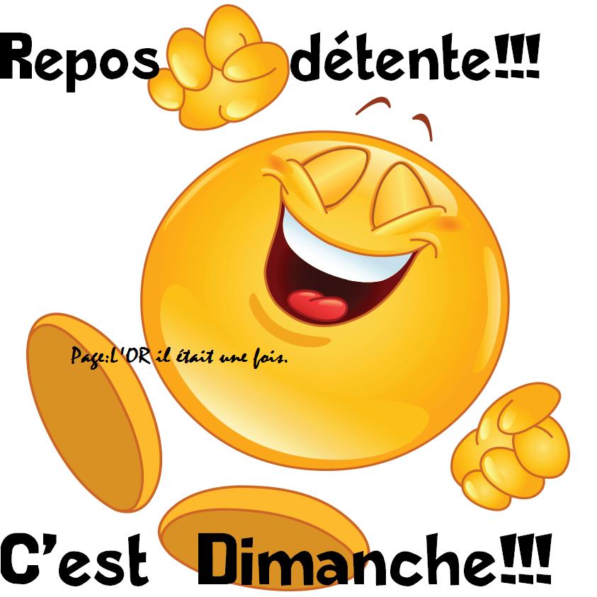 Repos détente!!! C'est Dimanche!!!