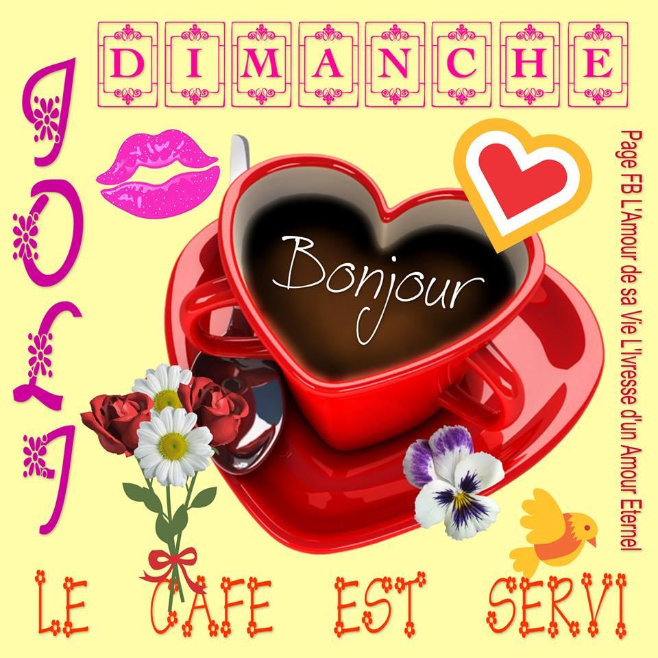 Joli Dimanche, Bonjour, Le café est...
