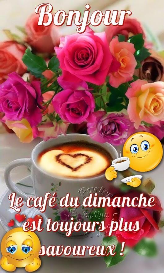 Bonjour, le café du...