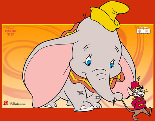 Dumbo et Timothée en file indienne