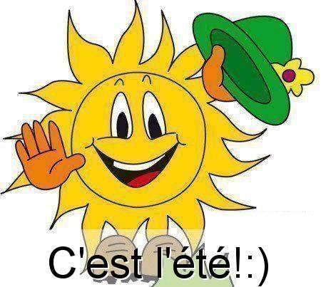 C'est l'été! :)