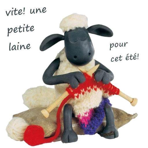 Vite! Une petite laine pour cet été!