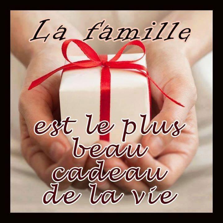 La famille est le plus beau cadeau de la vie