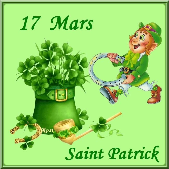 17 Mars, Saint Patrick