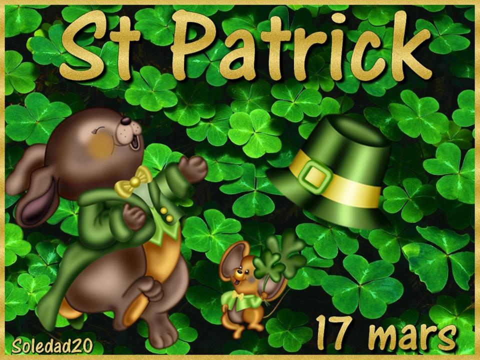 St Patrick, 17 mars