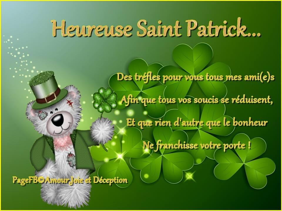 Heureuse Saint Patrick