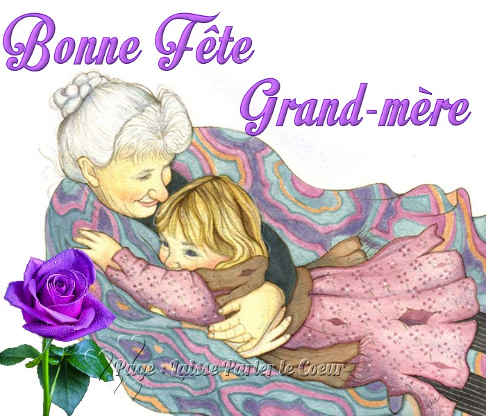17 f te des grands m res images photos et illustrations - Coloriage fete des grand mere ...
