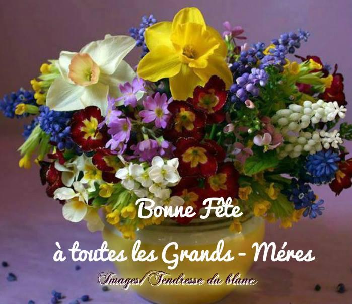 Bonne Fête à toutes les Grands-Mères