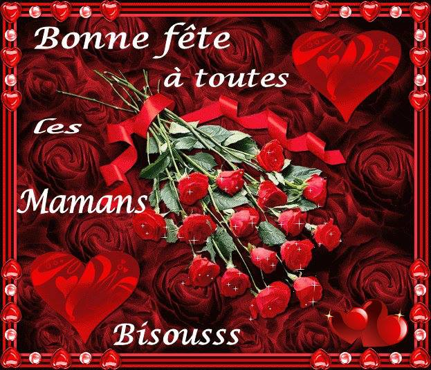 Bonne fête à toutes les Mamans, Bisoussss