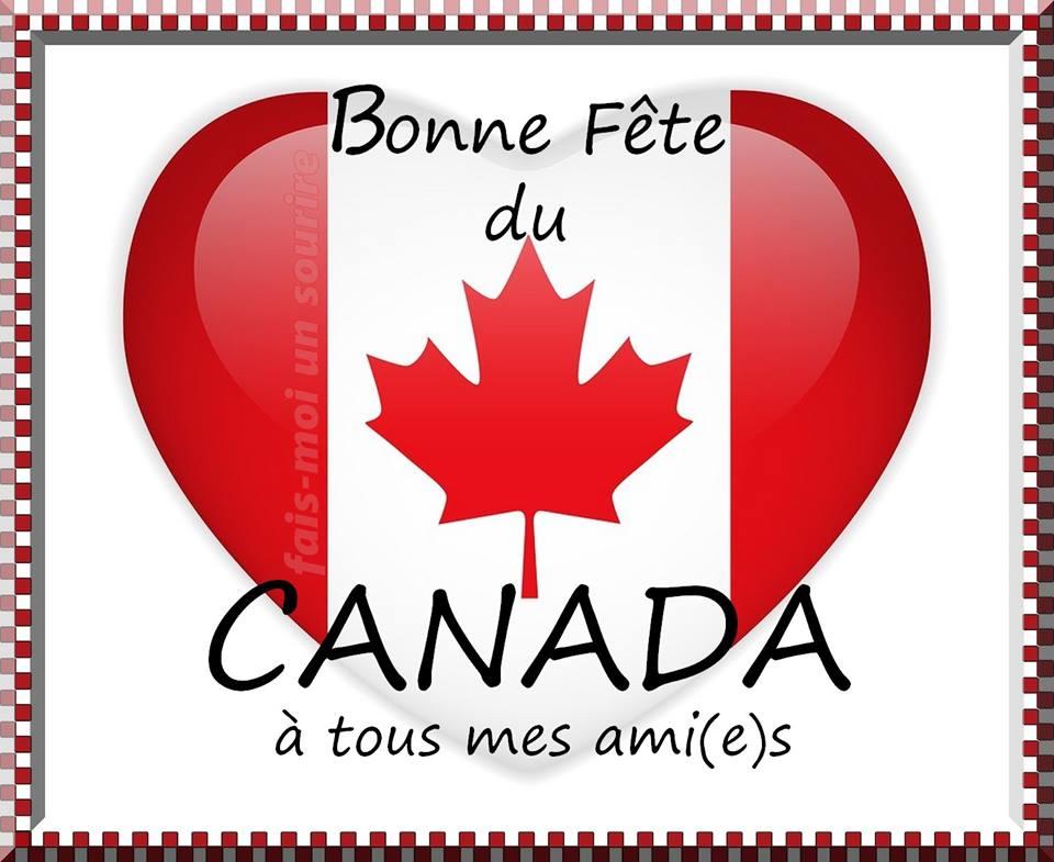 Bonne Fête du Canada à tous mes ami(e)s