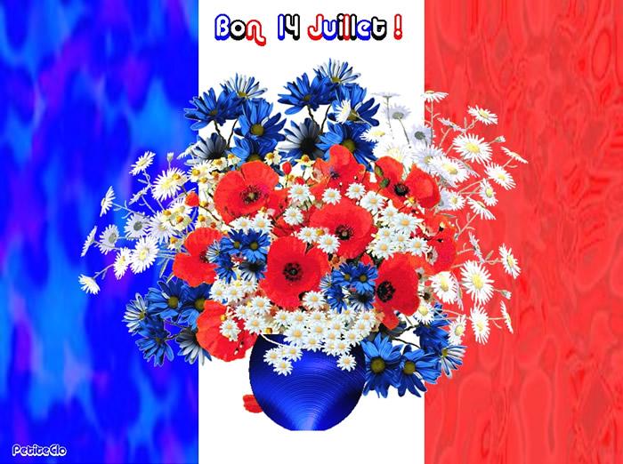 Bon 14 juillet image 4795 bonnesimages for Bouquet de fleurs quebec