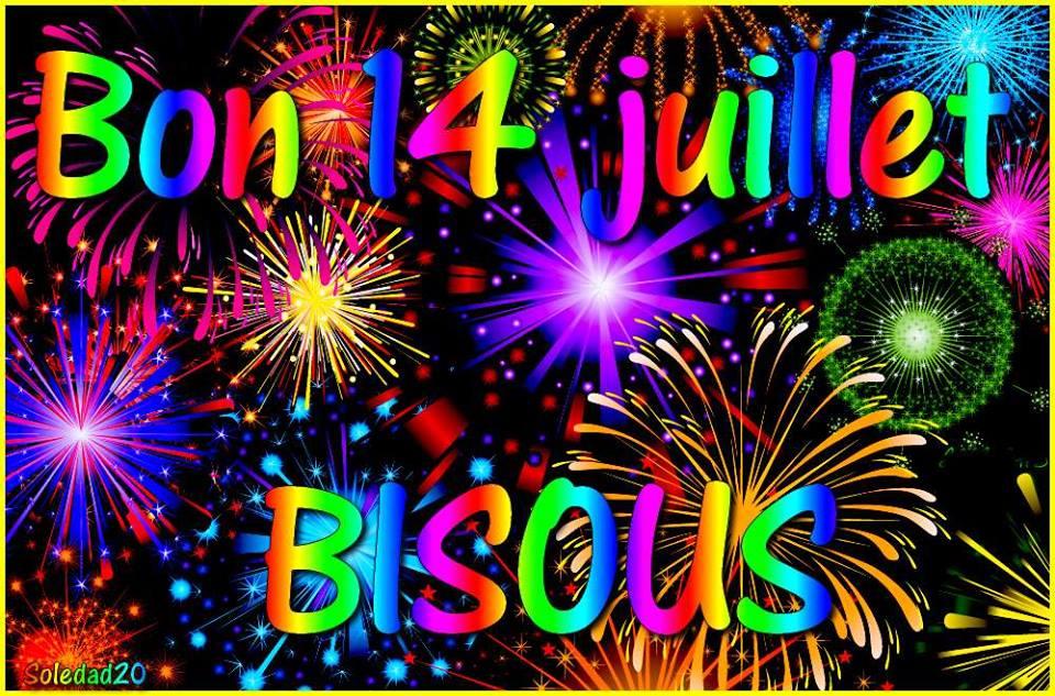 Bon 14 juillet, Bisous