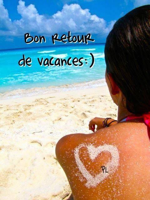 Bon retour de vacances :)