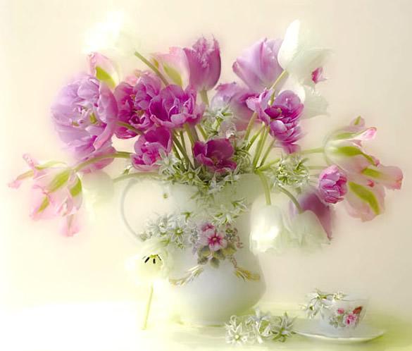 Beau bouquet de fleurs