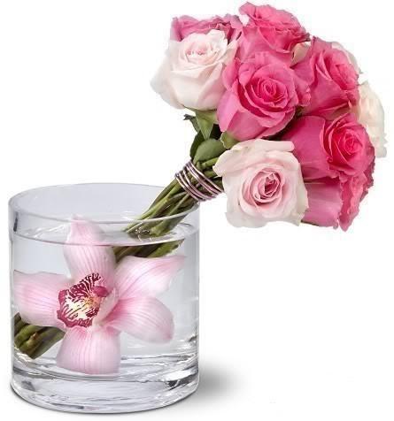 Délicat bouquet de roses