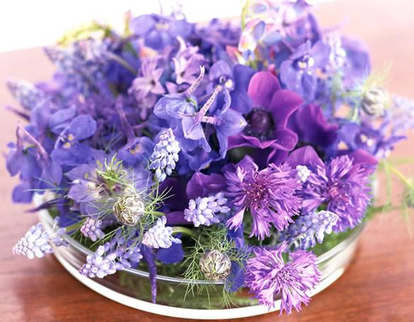 Petit bouquet violet